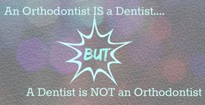 dentist not ortho