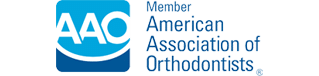 AAO Logo Dennis J Flanagan DDS MS Rockford and Winnebago IL